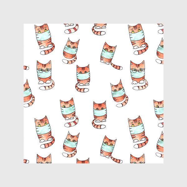 Скатерть «Вирусные котики»