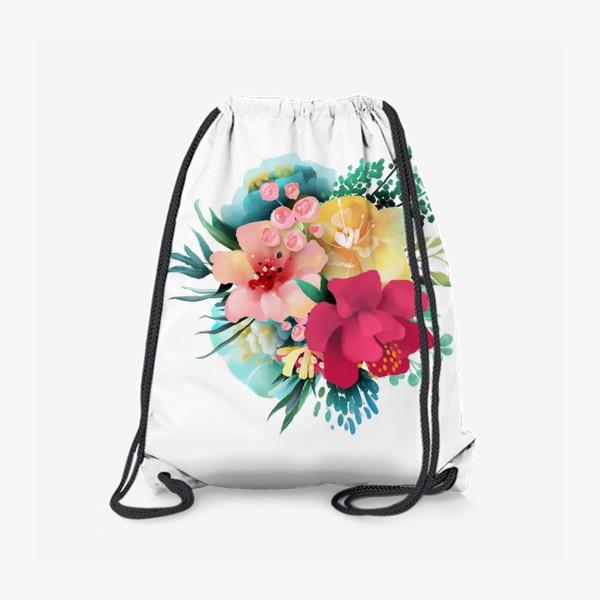 Рюкзак «Цветы»
