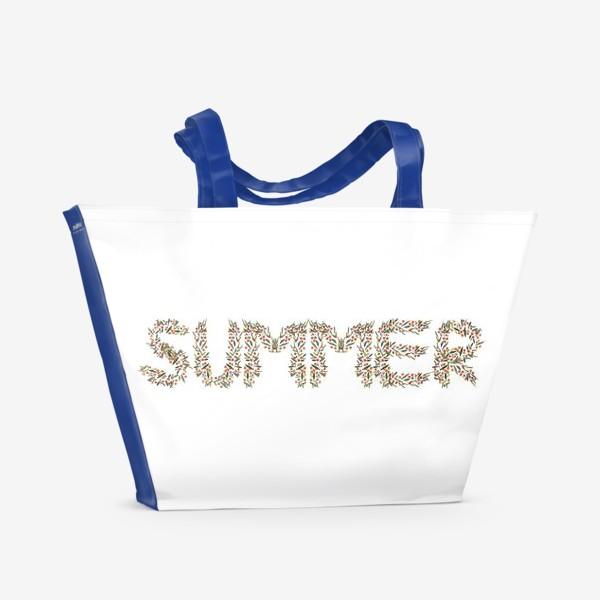 Пляжная сумка «Лето»