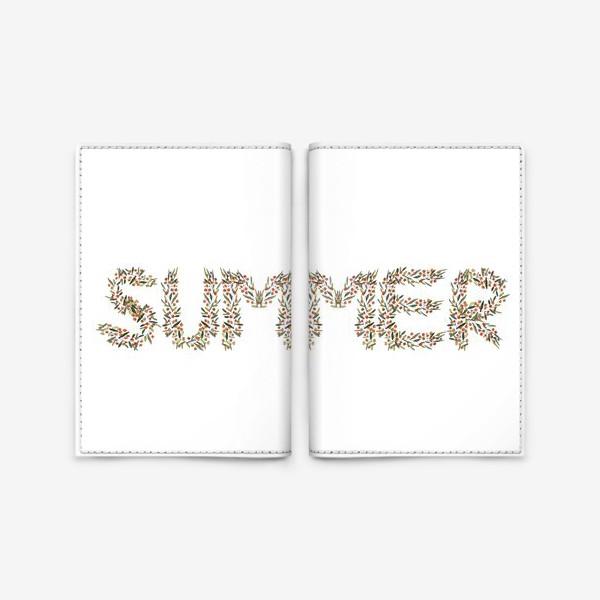 Обложка для паспорта «Лето»