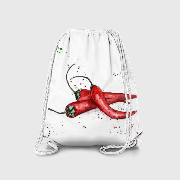 Рюкзак «Перец Чили. Жгучий вкус лета.»