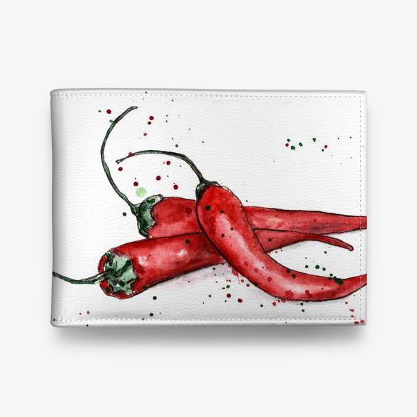 Кошелек «Перец Чили. Жгучий вкус лета.»
