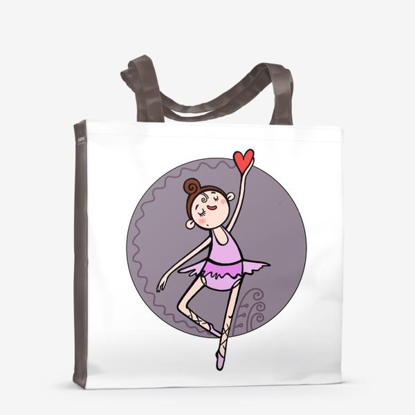 Сумка-шоппер «Балерина »