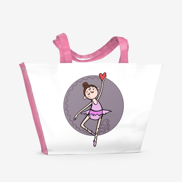 Пляжная сумка «Балерина »