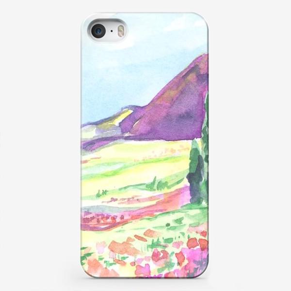 Чехол iPhone «природа в сердце»