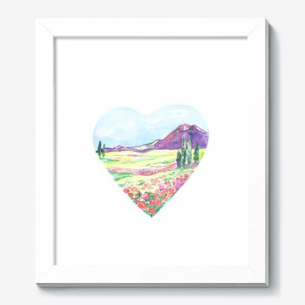 Картина «природа в сердце»