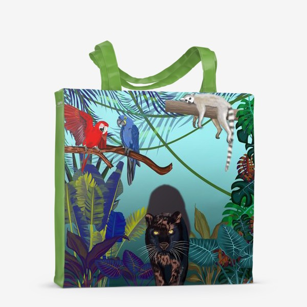Сумка-шоппер «Дикие джунгли зовут »
