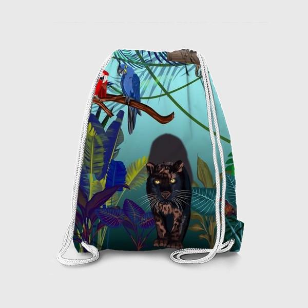 Рюкзак «Дикие джунгли зовут »