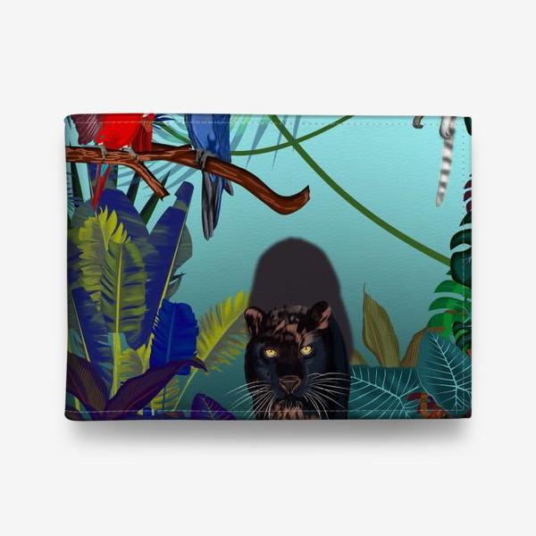 Кошелек «Дикие джунгли зовут »