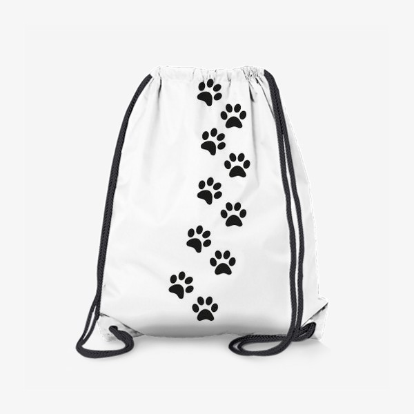 Рюкзак «Лапки кошки/собачки, следы»
