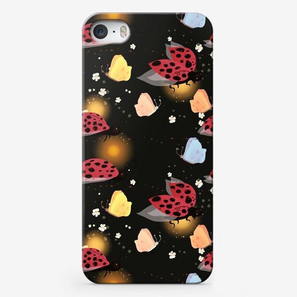 Чехол iPhone «Божьи коровки»