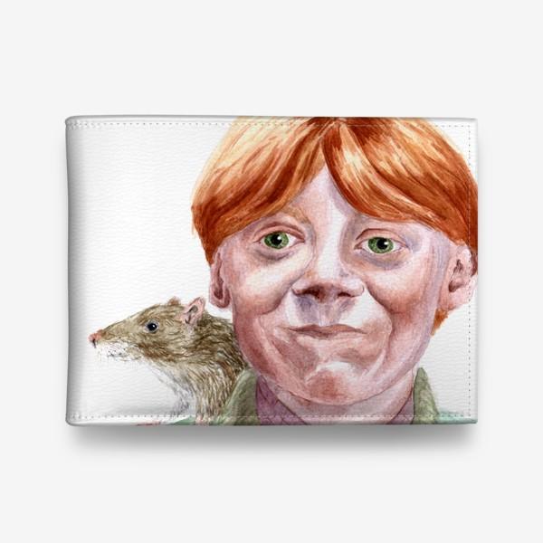 Кошелек «Рон Уизли из Гарри Поттера  и его крыса Короста»