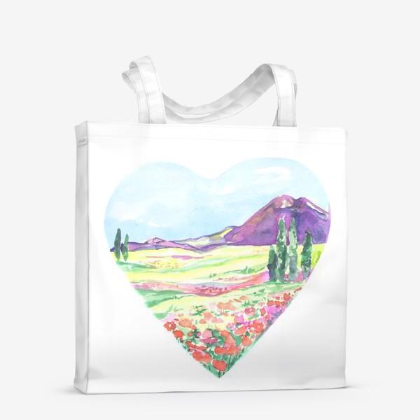 Сумка-шоппер «природа в сердце»