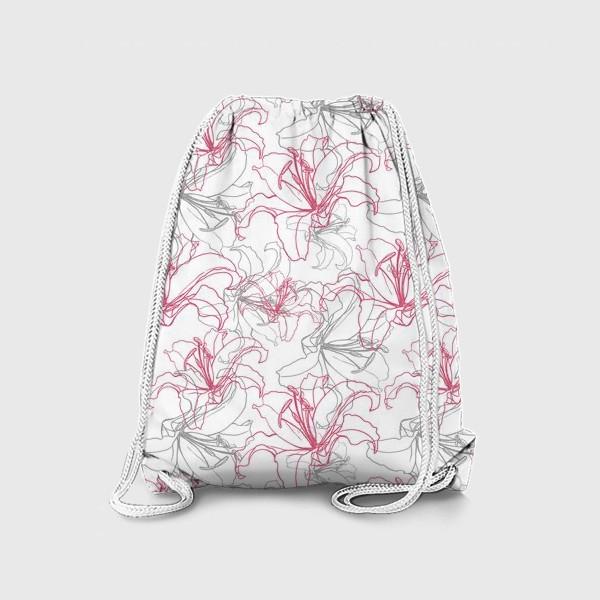 Рюкзак «Лилии»