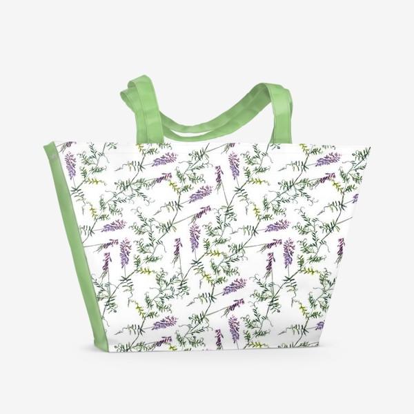 Пляжная сумка «Мышиный горошек»