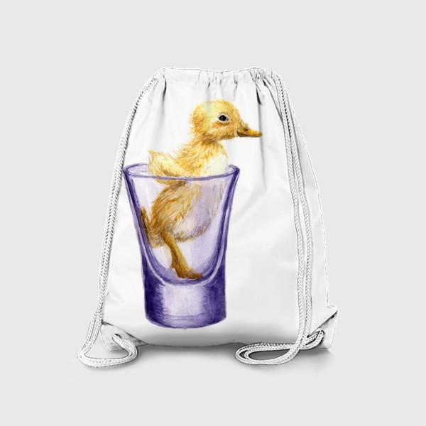Рюкзак «Утенок в рюмке»