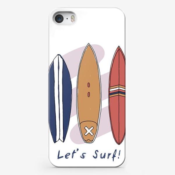 Чехол iPhone «Сёрфинг»