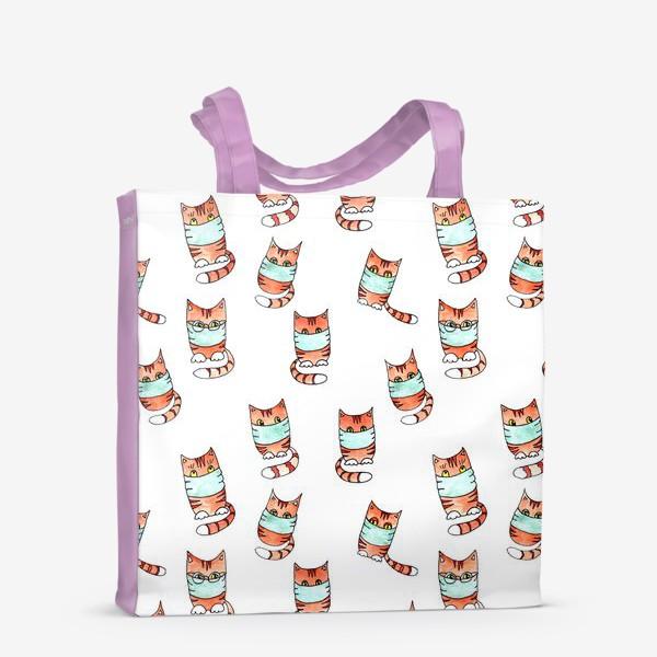 Сумка-шоппер «Вирусные котики»