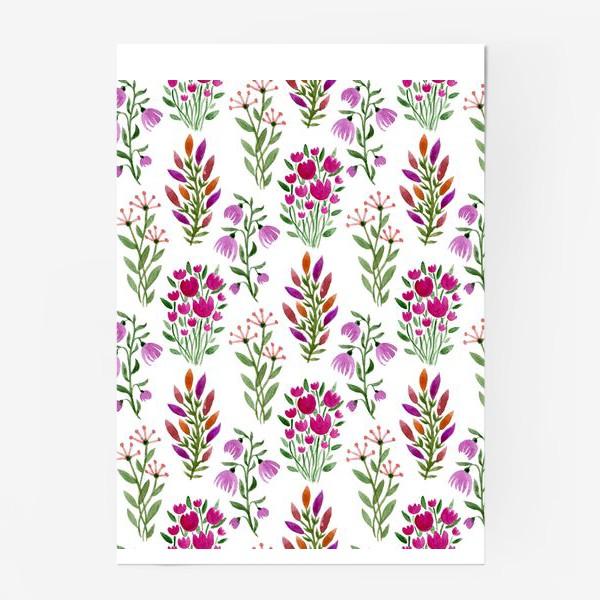 Постер «Цветы счастливых дней»