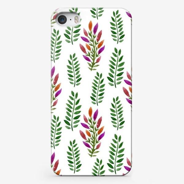 Чехол iPhone «Тропическая магия листьев»