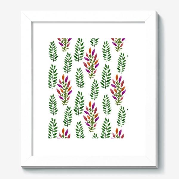 Картина «Тропическая магия листьев»