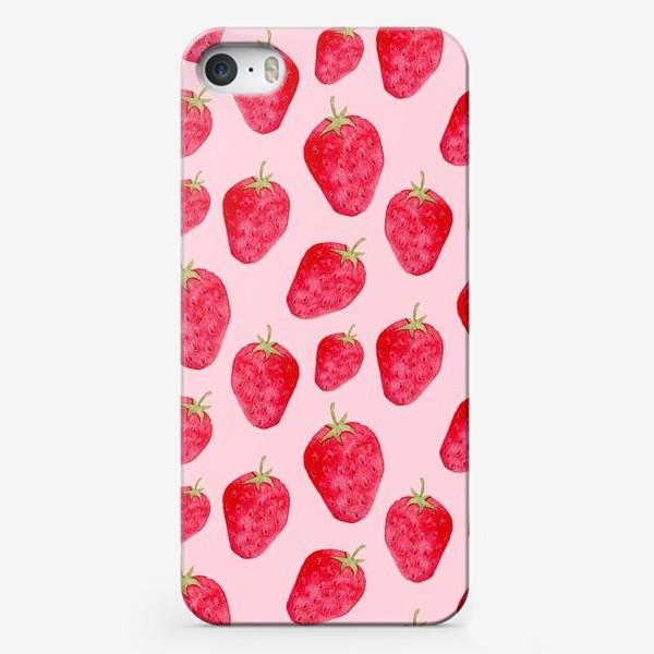 Чехол iPhone «Клубничное лето»