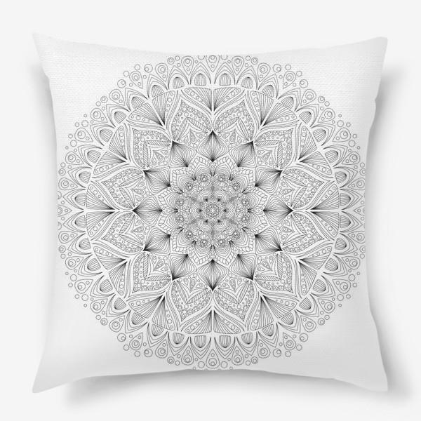 Подушка «Мандала»