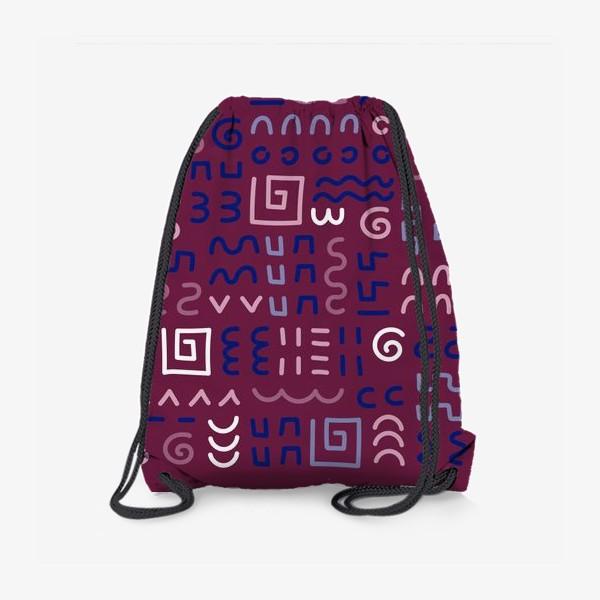 Рюкзак «Знаки, символы»