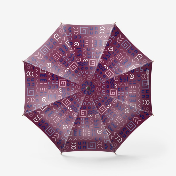 Зонт «Знаки, символы»