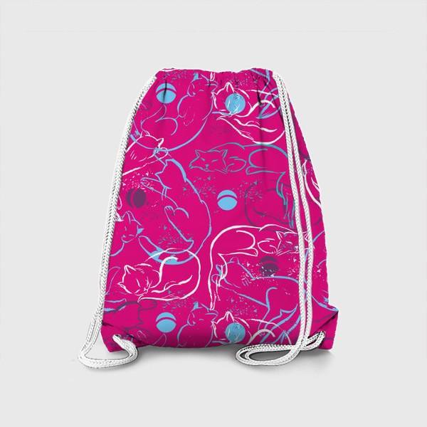 Рюкзак «Котовасия в розовом»
