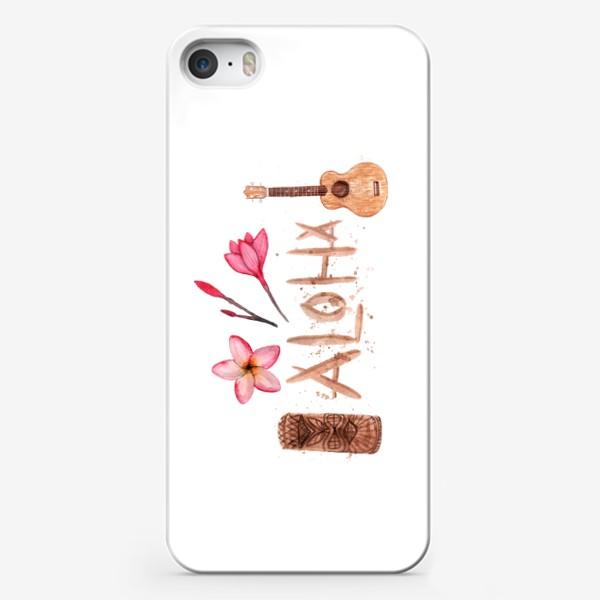 Чехол iPhone «Алоха!»