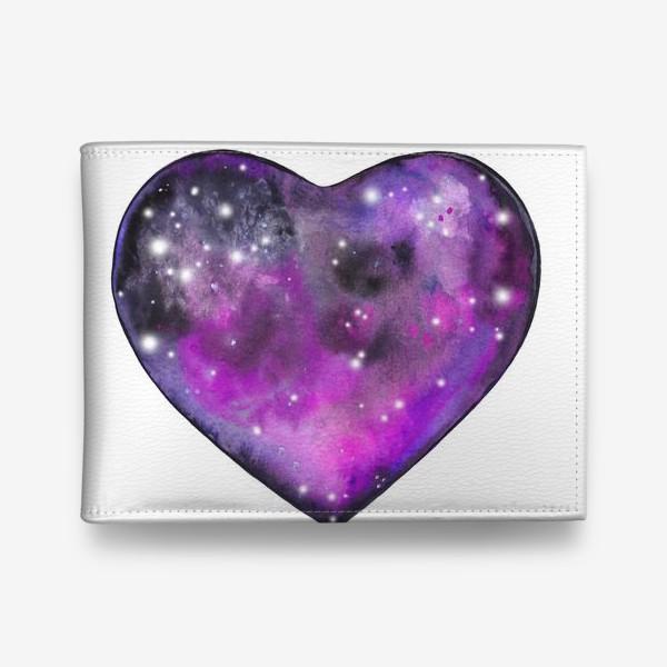 Кошелек «космос в сердце»