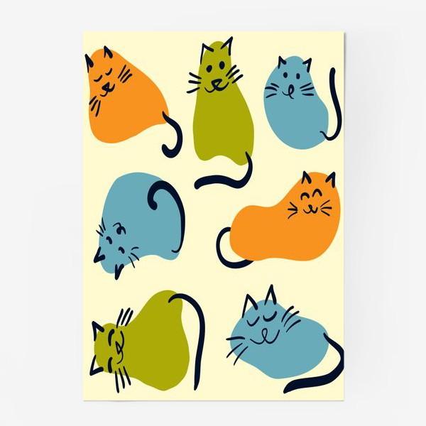 Постер «Котики обормотики»