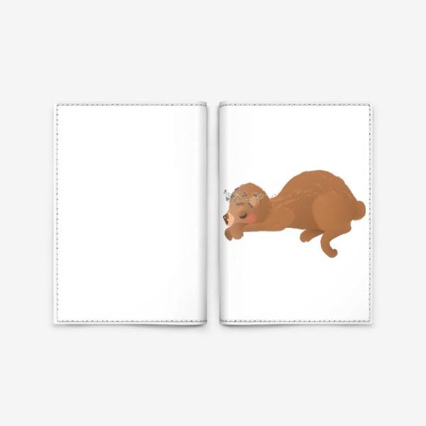 Обложка для паспорта «Сплюшка Соня»