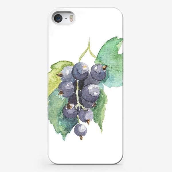 Чехол iPhone «черная смородина»