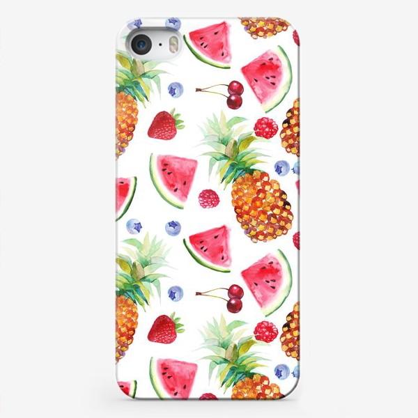 Чехол iPhone «Летний коктейль»