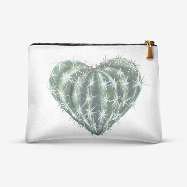 Косметичка «колючее сердце»