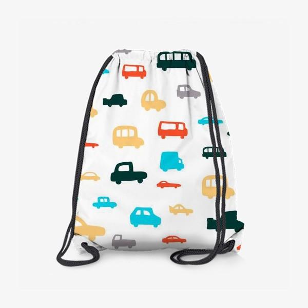 Рюкзак «машины»