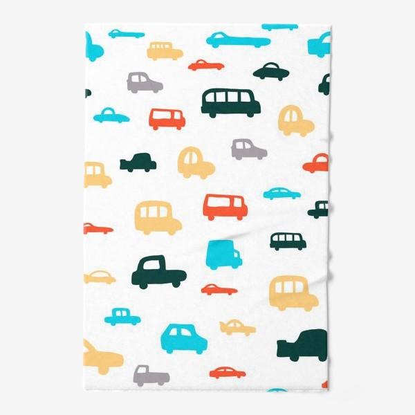 Полотенце «машины»