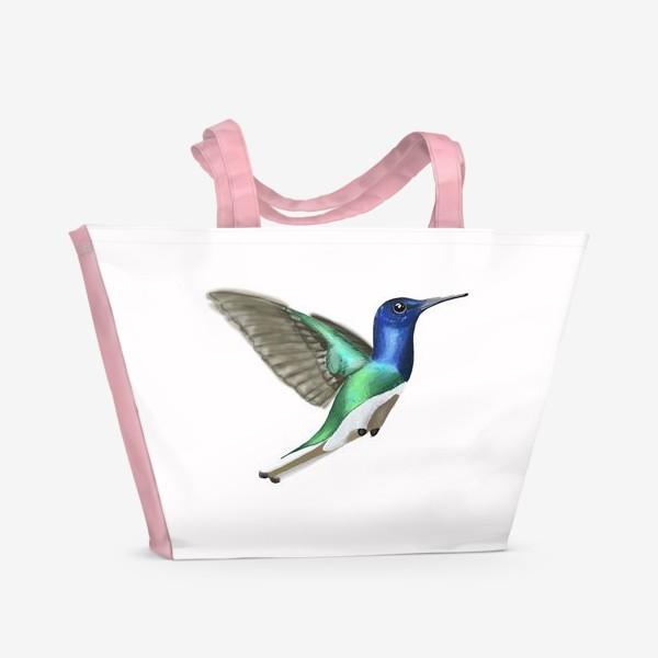 Пляжная сумка «Колибри»
