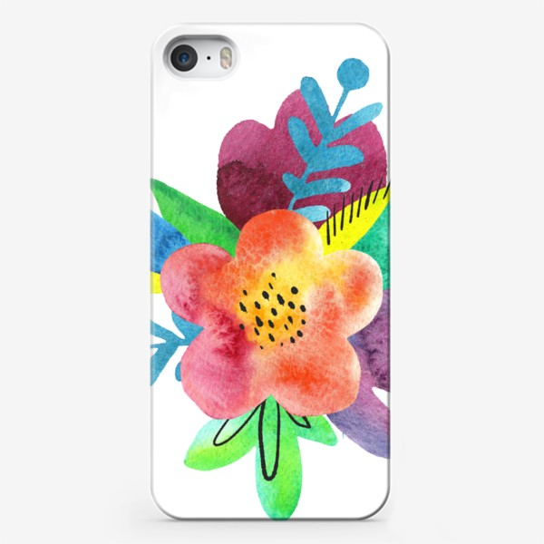Чехол iPhone «Летний букет»