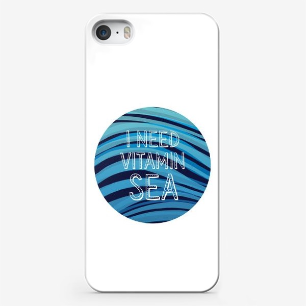Чехол iPhone «Море. Витамин»