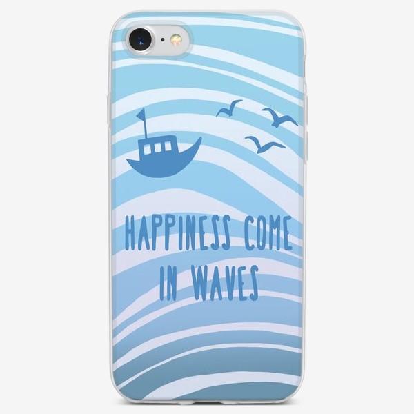 Чехол iPhone «Счастье в море»