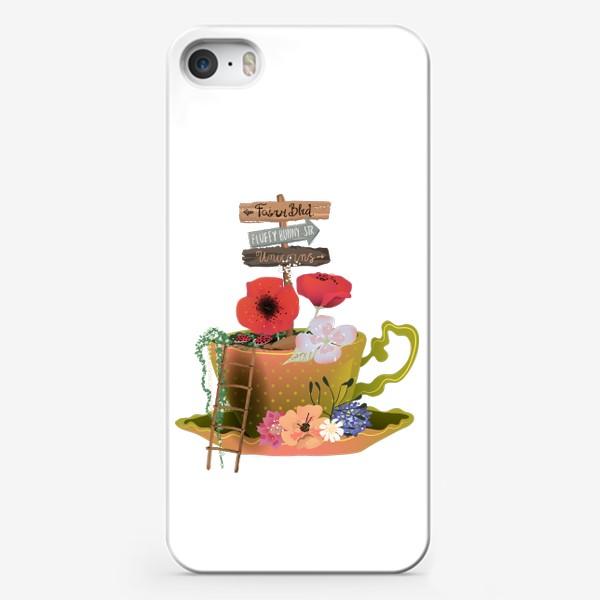 Чехол iPhone «Фэнтези чашка»