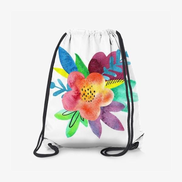 Рюкзак «Летний букет»