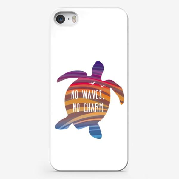 Чехол iPhone «Черепаха и море»