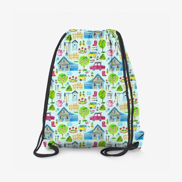 Рюкзак «Дачные домики»