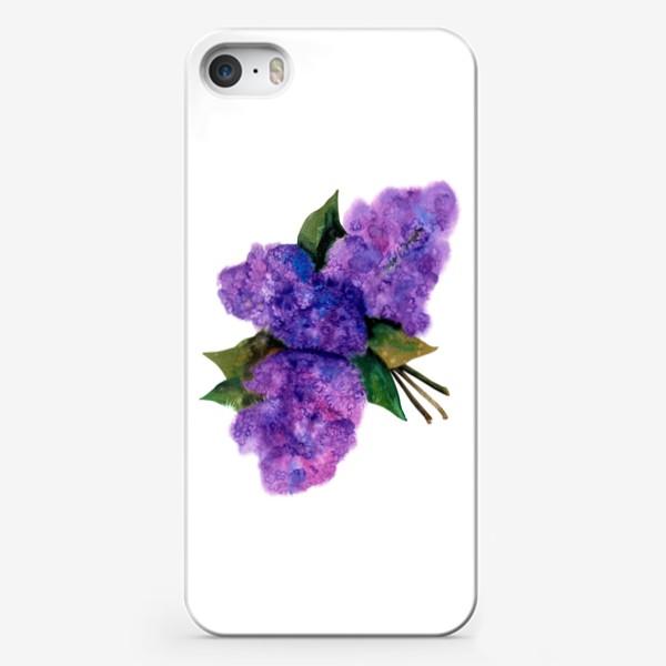 Чехол iPhone «Соцветия сирени»