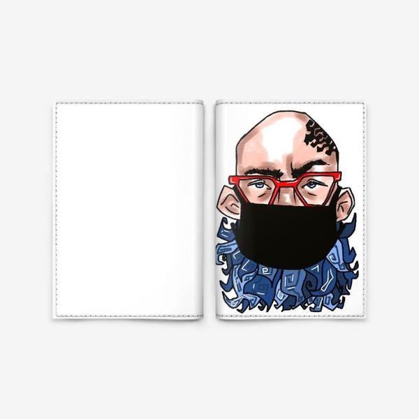 Обложка для паспорта «В маске »