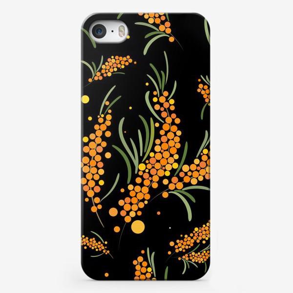 Чехол iPhone «Облепиха»